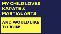 Child Loves Karate and Martial Arts