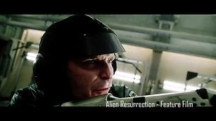 """Alien Resurrection"" - A commanding soldier takes charge of the room. Opposite Ron PerlmanGary Dourdan"