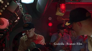 """Godzilla"" - Locked-on and Closing-in"