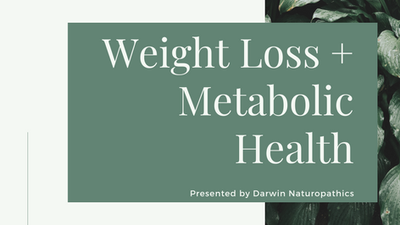 Weight Loss and Metabolic Health Webinar