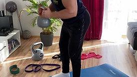 Good Mornings/ alternativ rotierend und mit Gewicht