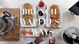 Brunch Waffles (2 Ways!)