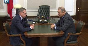 Владислав Третьяк обсудил с Александром Бурковым будущее Аре