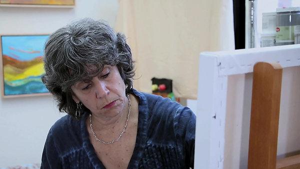 Painter Beth Barry
