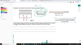 Elelctromagnetic induction question