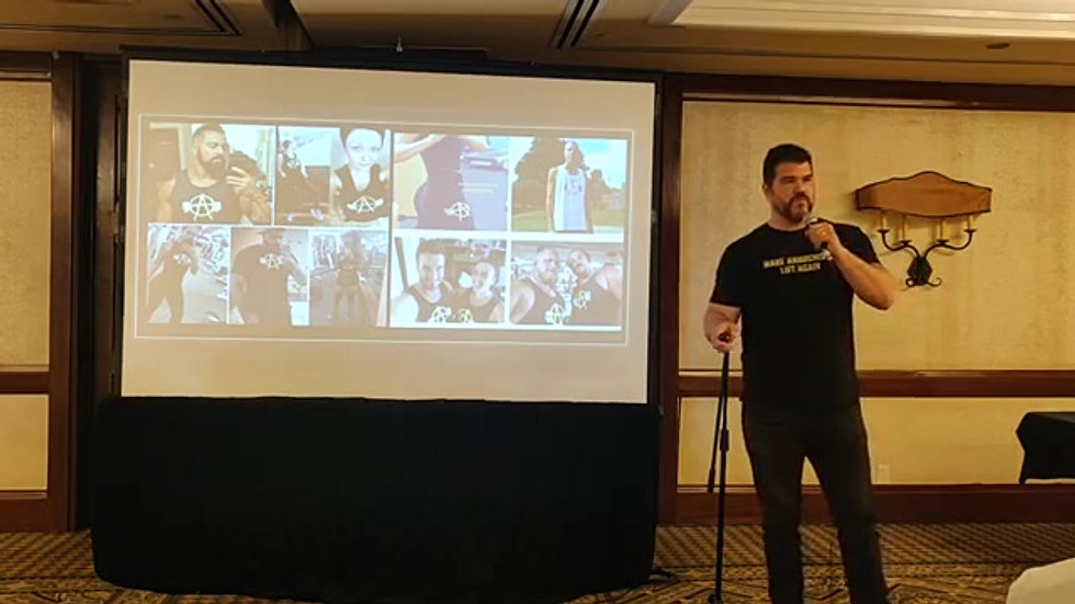 Health & Wellness Conference Speech ANARCHAPULCO 2019
