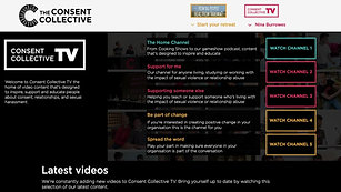 A guided tour of Consent Collective TV