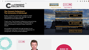 Your landing page and how to sign up