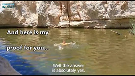 Ein Yorkeam - surprizing spring in the Negev desert