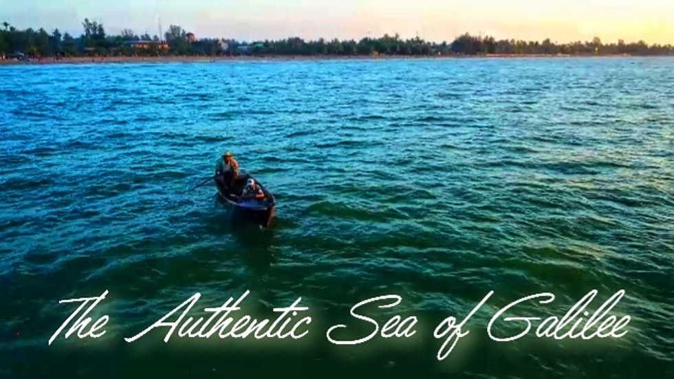 The Authentic Sea of Galilee - promo