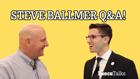 LA Clippers Owner, Steve Ballmer Speed Round Q&A!