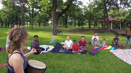 2. Community Sing at Minnehaha Falls Park