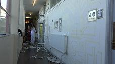 CMYK Remix - Corridor Grantham College Lincolnshire Feb17