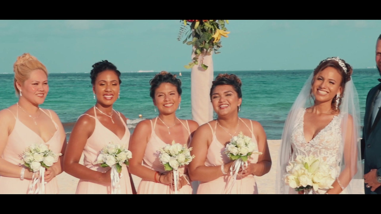 The Aracena's Destination Wedding