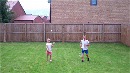 2. Badminton Catch PEC Rocketlearn