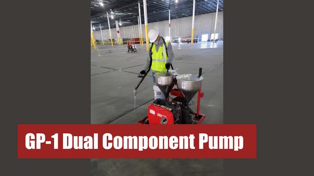 GP-1 Dual Component Pump