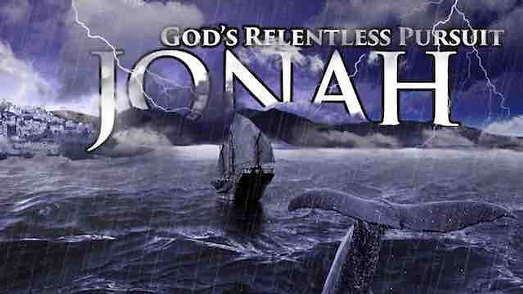 Jonah:God's Relentless Pursuit