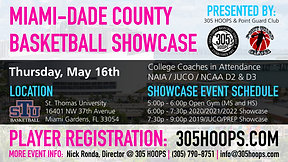 Miami-Dade County Basketball Showcase