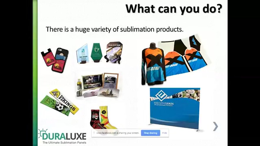 What can you sublimate?