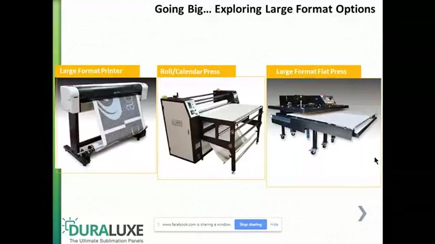 What equipment do you need to sublimate?