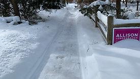 Sidewalk shovelling 2-15
