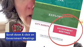 Finding CC meetings