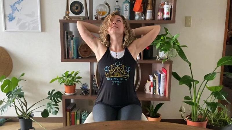 20 Minute Chair Yoga