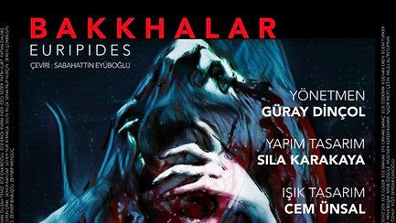 BAKKHALAR EURIPIDES 2019 İstanbul Bilgi Üniversitesi