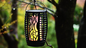 MÜLLER LICHT Solar Gartenfackeln DE