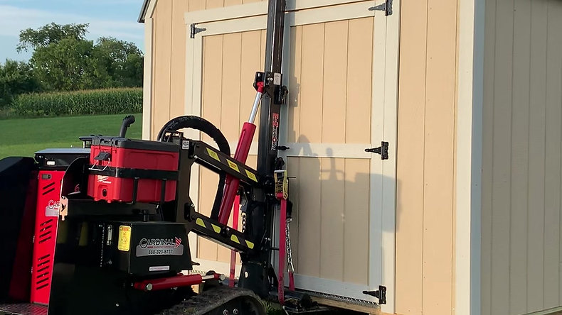 How is my shed delivered?  The Mule