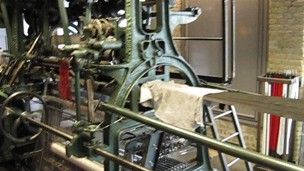 Leavers Machine - Calais Lace Museum