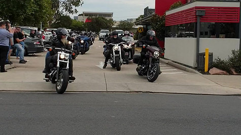 2020 10th Orbost Poker Run Start Bairnsdale