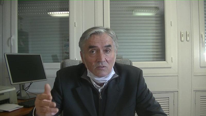 Pierre GUIBERT / Président district du VAR / Annonce la solution retenue pour finir les championnats