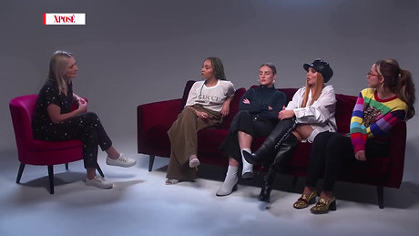 Little Mix Interview for Virgin Media Ireland, 2018