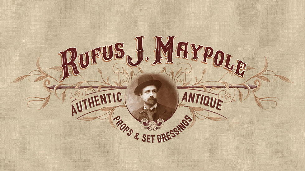 RJ Maypole - Antiques and Set Dressings