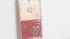 Smartphone Glitter Case / Pink