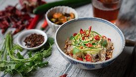 夏天好開胃!重慶川味黃瓜酸辣粉   桂冠窩廚房   日式清爽柚香和風醬