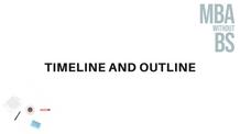 02 - Timeline and Outline