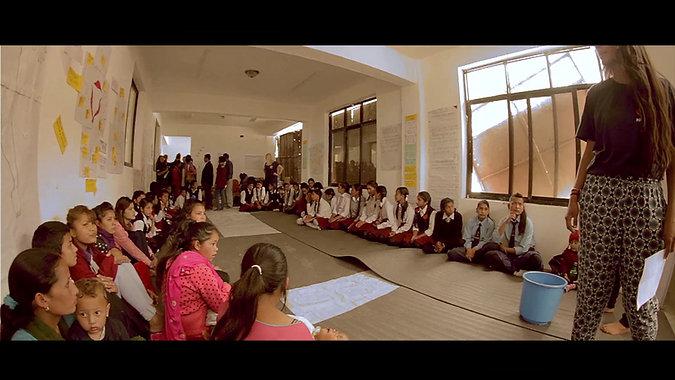 Working with Charikot Hospital