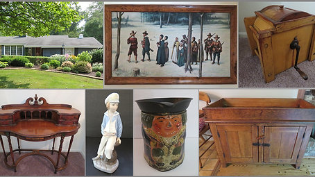 Baileys Honor Auctions - Online Personal Property / Antiques - Menomonee Falls WI - September 2021