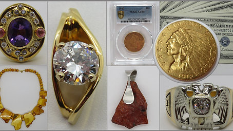 Baileys Honor Auctions - September Jewelry and Coins Auction