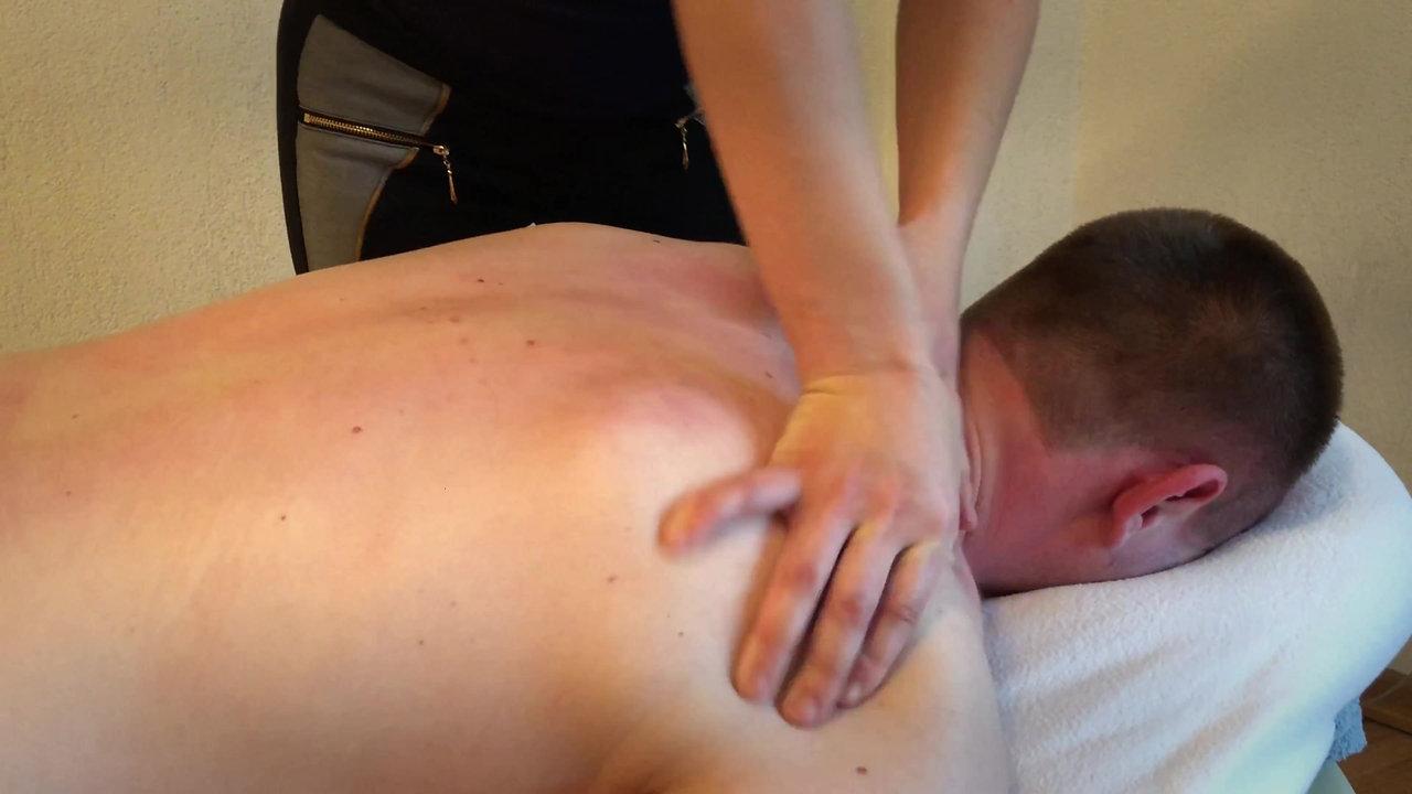 Спортивный массаж с элементами шиацу
