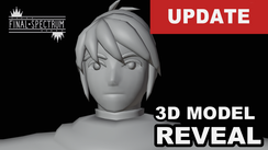 3D Character Model Reveal - RL7 Animation Games Update - March 01_2021