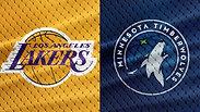 Wolves vs. Lakers - 1/1/18