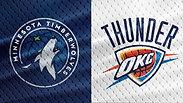 Wolves vs. Thunder - 1/10/18