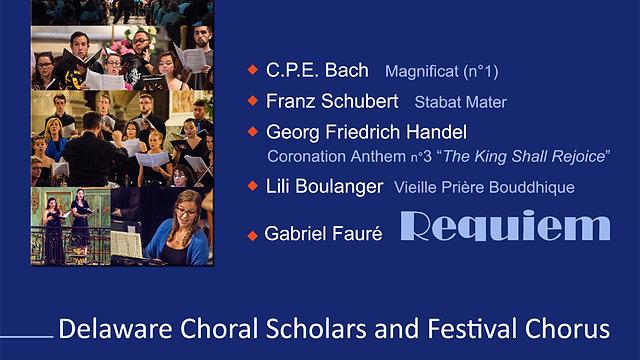 """5ème Symposium en Pays d'Aix de la """"Delaware Choral Academy"""""""