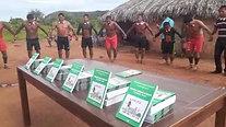 Lançamento do livro DAMREME WAIHU'U NA'RATAZÉ A'uwẽ Uptabi - Xavante - TI Pimentel Barbosa