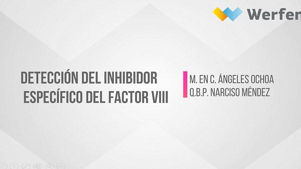 Detección del inhibidor específico del factor FVIII