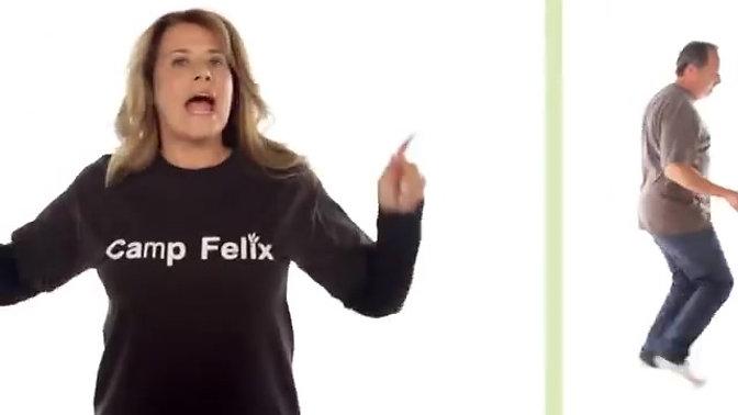 Walk This Way Felix PSA