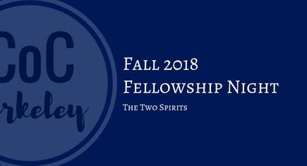 Fellowship Night 2018-10-18